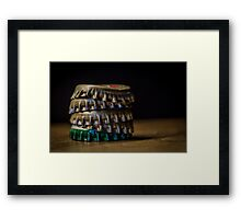 The morning after the night before.... Framed Print