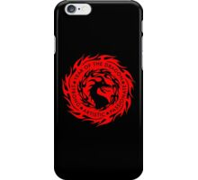 Chinese Zodiac Year of The Dragon Graphic Design iPhone Case/Skin