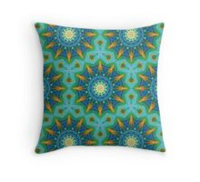 From Sunflowers to Stars_#1 Throw Pillow