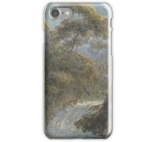 Franz Innocenz Kobell (German, ) Waterfall in the Mountains by Moonlight, about  iPhone Case/Skin