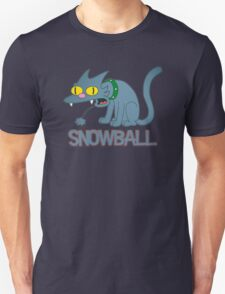 Snowball Cat Unisex T-Shirt