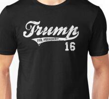 Trump For President Ballpark Grunge Unisex T-Shirt