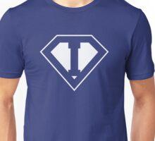 I letter in Superman style Unisex T-Shirt