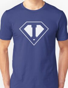 I letter in Superman style T-Shirt