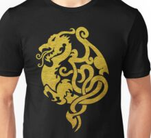 Gold Dragon Unisex T-Shirt
