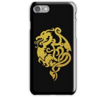 Gold Dragon iPhone Case/Skin