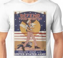 Vintage poster - Defend Your Country Unisex T-Shirt