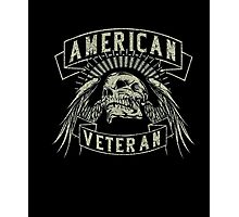 American Veteran T Shirt Photographic Print