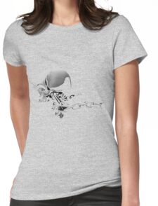 New skulls  Womens Fitted T-Shirt
