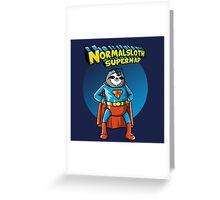 Normalsloth Greeting Card