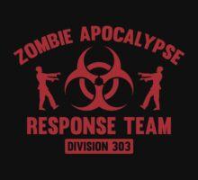 Zombie Apocalypse Response Team by DesignFactoryD