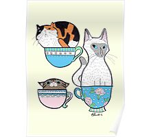 Cupple of Cats Poster