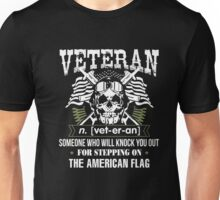 Stepping On The American Flag T Shirt Unisex T-Shirt
