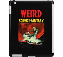 Weird Science Fantasy vintage iPad Case/Skin