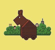 Trojan Bunny One Piece - Short Sleeve