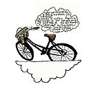 Dream Bicycle print by Blackbird76