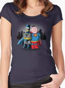 Bathomer VS Supergriffin Women's Fitted Scoop T-Shirt