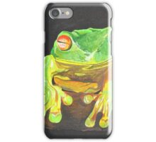 Red Eyed Tree Frog iPhone Case/Skin
