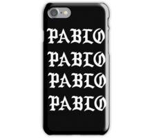 Kanye - Pablo - White iPhone Case/Skin