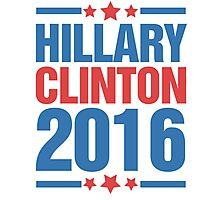 Hillary Clinton 2016 Photographic Print