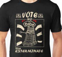 Vote No On Dalek Unisex T-Shirt