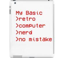 Retro Computer Nerd iPad Case/Skin