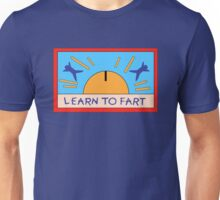 LEARN TO FART - BART´S FLAG Unisex T-Shirt