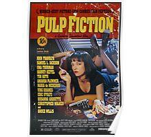 Pulp Fiction Uma Thurman Poster Poster