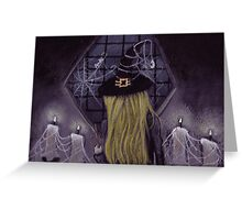 Witches Waiting... Greeting Card