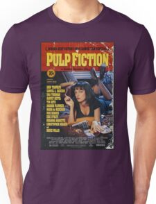 Pulp Fiction Uma Thurman Poster Unisex T-Shirt