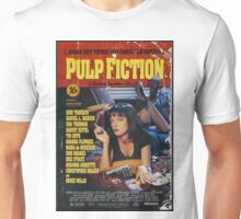 Pulp Fiction Uma Thurman Poster Unisex T-Shirt