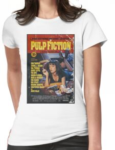 Pulp Fiction Uma Thurman Poster Womens Fitted T-Shirt