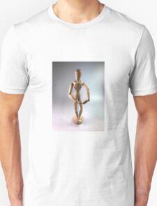 Wooden Doll Unisex T-Shirt