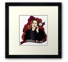 XF Dana Scully  Framed Print