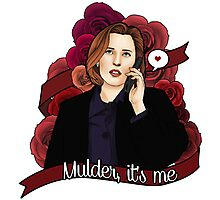 XF Dana Scully  Photographic Print