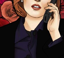 XF Dana Scully  Sticker