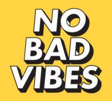 No Bad Vibes Sticker
