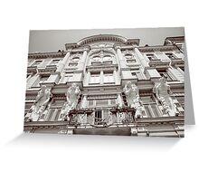 Jewish National House in Chernivtsi Greeting Card