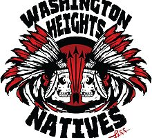 Washington Heights NATIVES (red) by LAFF