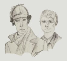 Sherlock and John by Edgar Lowman
