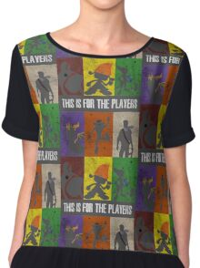 This is for the players Chiffon Top