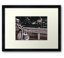 Refection Framed Print