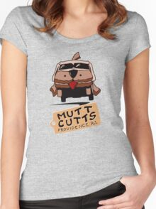 MUTT CUTTS VAN - DUMB & DUMBER Women's Fitted Scoop T-Shirt