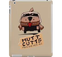 MUTT CUTTS VAN - DUMB & DUMBER iPad Case/Skin