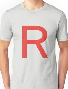 Team Rocket Symbol Pokemon Anime Comic Con Cosplay Costume Unisex T-Shirt
