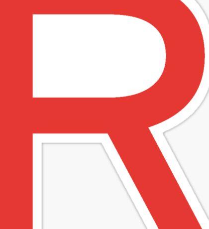 Team Rocket Symbol Pokemon Anime Comic Con Cosplay Costume Sticker
