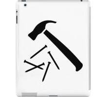 Hammer nails iPad Case/Skin