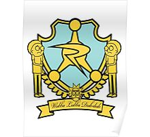 Council of Ricks Crest Poster