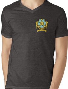 Council of Ricks Crest Mens V-Neck T-Shirt