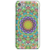 RAINBOW CHAMELEON MANDALA iPhone Case/Skin